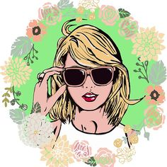 Floral Swifties