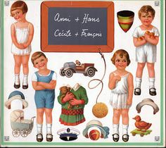 Vintage Paper Dolls Cover 1