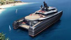 Abeking & Rasmussen's 63 metre SWATH yacht