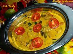 Kerala Fish Molly Recipe (Fish Cooked in Coconut Milk) – Yummy Recipes Salmon Recipes, Fish Recipes, Indian Food Recipes, Beef Recipes, Vegetarian Recipes, Yummy Recipes, Snack Recipes, Yummy Food, Healthy Recipes