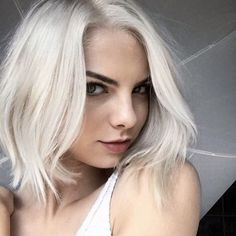 """The Top 5 Spring Hair Trends To Take L.A. #refinery29  http://www.refinery29.com/la-hair-stylist-spring-trends-2016#slide-11  Icy BlondStylist: Cassondra KaedingSalon: Sally HershbergerWhat To Ask For: Ashy-blond platinum""""I call this color an ..."""