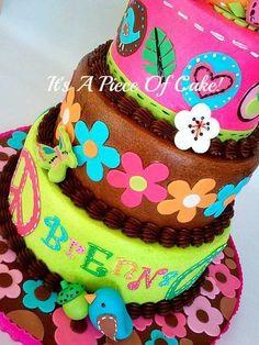 Owl Birthday Cake for my Daughter:) https://www.facebook.com/ItsAPieceofCakeWV