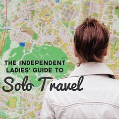 The Independent Ladies' Guide To Solo Travel. The why & how of badass, drama-f… The Independent Ladies' Guide To Solo Travel. The why & how of badass, drama-free trips for ballsy women. Oh The Places You'll Go, Places To Travel, Travel Destinations, Solo Travel Tips, Travel Advice, Travel Stuff, Travel Hacks, Travel Guides, Minibus