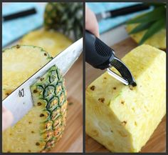 How to: Choose & Cut a Pineapple | cookincanuck.com