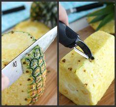 How to: Choose & Cut a Pineapple | cookincanuck.com