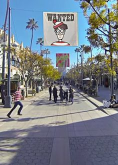 """A panoramic video allows you to search for the """"Where's Waldo?"""" character in 360 degrees."""