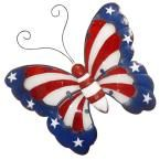 The Holiday Aisle Americana Butterfly Wall Décor Wooden Wall Decor, Wooden Walls, Mickey Mouse, Butterfly Wall Decor, Butterfly Crafts, Patriotic Decorations, How To Distress Wood, Of Wallpaper, Wall Signs