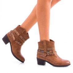Botine Dama Lorie Camel Camel, Booty, Ankle, Shoes, Fashion, Moda, Swag, Zapatos, Wall Plug