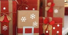 It is time to wrap your Christmas gift! How about personalized it with Santa's Belt And Snowflakes Gift Wrap?