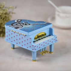 Wind-up Mechanical Piano Musical Box Classical Melody Music Box with Dancing Girl Birthday Festival Gift for Children Girls