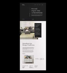 Interior Design Company Website UX Design on Behance