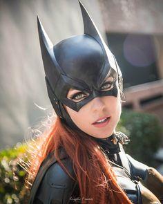 Batman Arkham Knight Batgirl cowl - by Tiger Stone FX