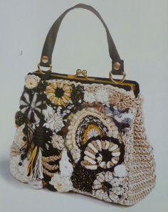 freeform crochet handbag: Russian Crochet Inspiration!