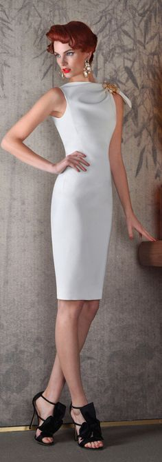 dsquared2 - simple, cocktail dress in white. But could imagine it in any colour :)