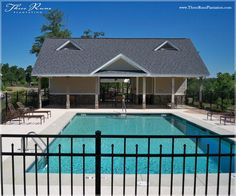 Three Runs Plantation community pool. For equestrian and non-equestrian lovers alike.