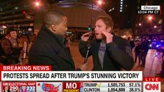 He had a pro-Hillary meltdown on live TV. Then the conspiracy theories started.