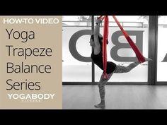 Yoga Trapeze: Yoga Leg Sequence for Balance - YouTube