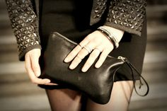 Beautiful danish blogger, Simone from Fashionmanifest.dk, with Ring Party!-ringe <3