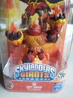 Skylanders Giants Hothead Character | eBay