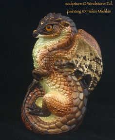Copper Cowry Young Dragon - Windstone Editions