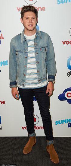June 10: Niall at Capital FM's Summertime Ball