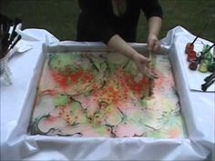 Acrylic Pour Painting: Ocean Waves With CELLS - YouTube
