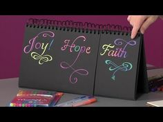 Zenspirations - Links for Joanne Fink's Videos, including pretty on flourishes.