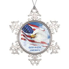 f9d74dab5368c American Flag and Eagle s Head Christmas Ornament Eagle Head