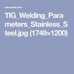 Welding Videos, Stainless Steel