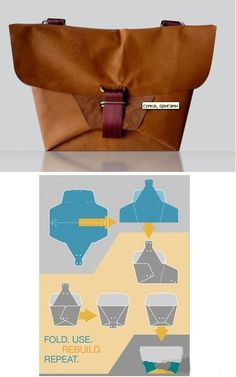 Сумки оригами (подборка)