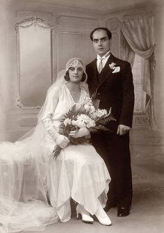 Shorpy Historic Picture Archive :: A Wedding: 1931 high-resolution photo