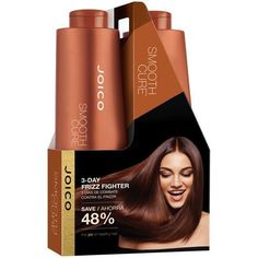 Introducing Joico Smooth Cure Shampoo  Conditioner For Curly Frizzy Coarse Hair Sulfate Free 338 oz. Get Your Ladies Products Here and follow us for more updates!