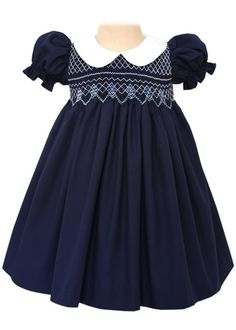 Shop a great selection of Beautiful Bliss Classic Hand Smocked Navy Christmas Girls Dress. Find new offer and Similar products for Beautiful Bliss Classic Hand Smocked Navy Christmas Girls Dress. Blush Flower Girl Dresses, Girls Smocked Dresses, Girls Christmas Dresses, Christmas Girls, Christmas Holiday, Girls Dresses Online, Smock Dress, Little Girl Dresses, Holiday Outfits