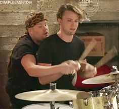 James Corden & Ashton in The Lost Member of 5 Seconds Of Summer