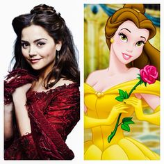 Clara Oswald / Belle - Dr Who Companions and their Disney Princess Counterparts