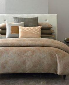Calvin Klein Home Bedding, Oxidized Paisley Collection - Bedding Collections - Bed & Bath - Macy's
