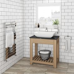 The Bath Co. Hoxton oak washstand with black marble top Contemporary Bathroom Furniture, Contemporary Style Bathrooms, Countertop Basin, Marble Countertops, Kitchen Countertops, Black Marble, Marble Top, Bathroom Styling, Bathroom Interior Design