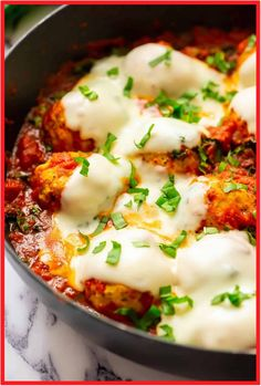 Italian Baked Chicken Meatballs are my favorite easy and amazing Chicken Meatballs Recipe. This recipe for Spicy Italian Chicken Meatballs brings you straight to Italy with soft meatballs, rich sauce, and ooey-gooey cheese. Chicken Meatball Recipe Easy, Baked Chicken Meatballs, Chicken Recipes Video, Baked Chicken Recipes, Chicken Sausage, Keto Chicken, Chicken Appetizers, Appetizer Recipes, Quiche Recipes