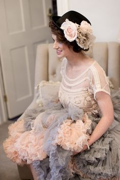 View Doris Petticoat Photos for Inspiration. Lots of Scrumptious Colours. Ball Gowns Evening, Evening Dresses, Afternoon Dresses, Day Dresses, Flower Girl Dresses, Wedding Dresses, Floral Dresses, Petticoat Junction, 1920s Dress