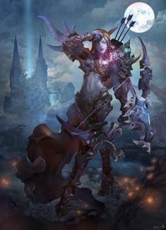 Vimos lo que hizo bajo el mando de Arthas, como lo traiciono, y como se las ingenio paraformaa la facción actualmente conocida como losRenegados. Hoy continuaremos con la segunda parte de su historia. Disfrútenla!