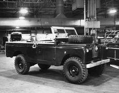 // Land Rover Series 2A One Ton Prototype development vehicle circa 1965