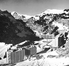 Resort Town Flaine, Haute Savoie, France, 1960-82 (Marcel Breuer & Associates)