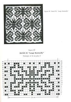 Mosaik Hebemaschen Stricken Unikatissimas 5