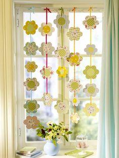 flower garland @VickysHome