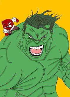 Hulk and Anger by Gilliland35