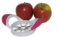 Apple Slicer for coring, slicing and wedging, from Main Kitchen Items. We Offer a Apple slicer with a Free Ebook. The dividing into wedges are smooth and simple The apple wedges and core is easy to remove.Want one now! Main Kitchen Items http://www.amazon.com/dp/B00Y117LSI/ref=cm_sw_r_pi_dp_Ea6Ovb14QRCBT