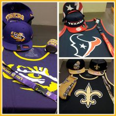 It's finally warming up!  Do you have your tank to support your team? #saints #tigers #texans