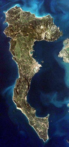 Krf iz vazduha Swiss Bank, The Hague, Foreign Policy, Corfu, Albania, Athens, Britain, Greece, Italy