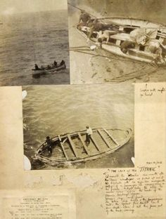 Photos and a handwritten note from the Titanic's last lifeboat will be auctioned. Henry Aldridge & Son