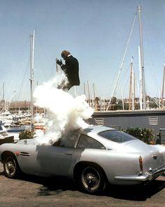 Awesome James Bond still James Bond Cars, James Bond Style, James Bond Movies, Next Mens Shoes, Aston Martin Db4, Ejection Seat, Sports Cars Lamborghini, Bond Girls, Sport Cars